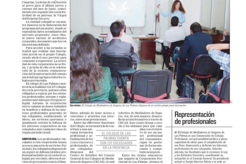 Artículo especial sobre el Colegio de Las Palmas