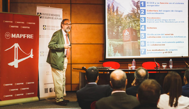"""Conferencia """"El Consorcio de Compensación de Seguros"""""""