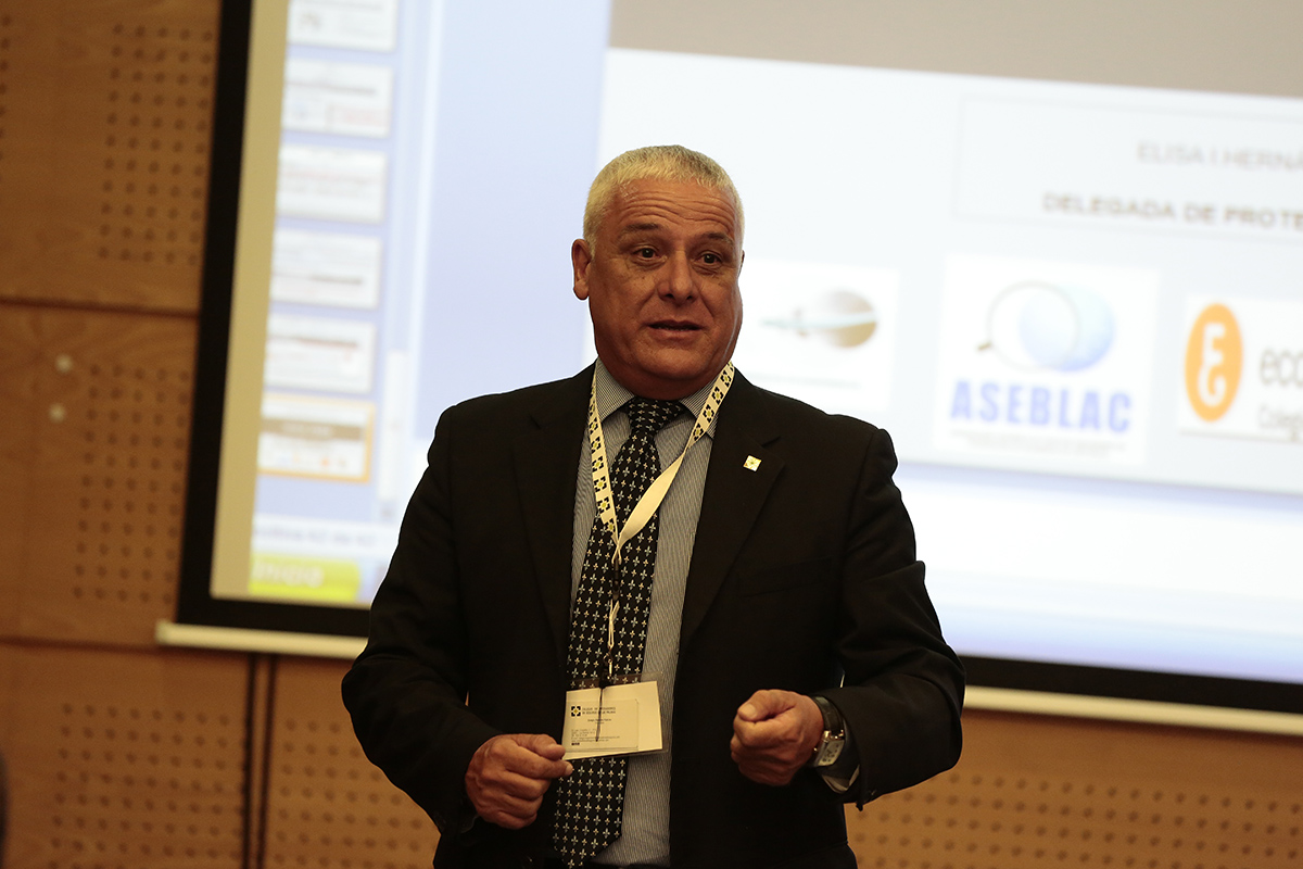 Sergio Barrera, presidente del Colegio de Mediadores de Seguros de Las Palmas