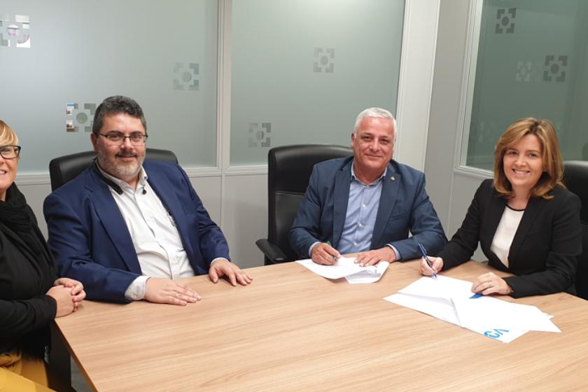 Pelayo y el Colegio de Mediadores de Seguros de Las Palmas